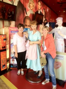 We Love Lucy! MKA & Ki at Tussaud's Wax Museum