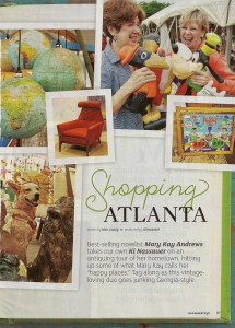 Shopping Atlanta with Ki Nassauer and Flea Market Style Magazine