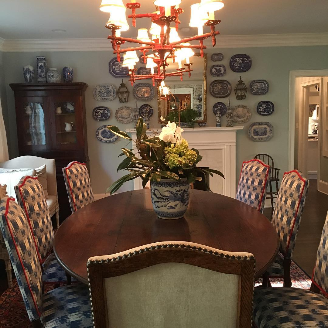 Foofing the dining room
